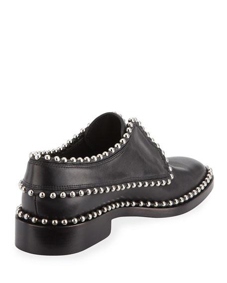 Wendie Studded Laceless Loafer, Black