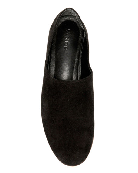 Maude Suede Loafer, Black
