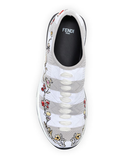 Embroidered Sock Sneaker