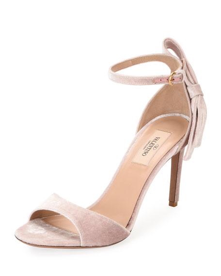 Valentino Garavani velvet sandals SPzdKO