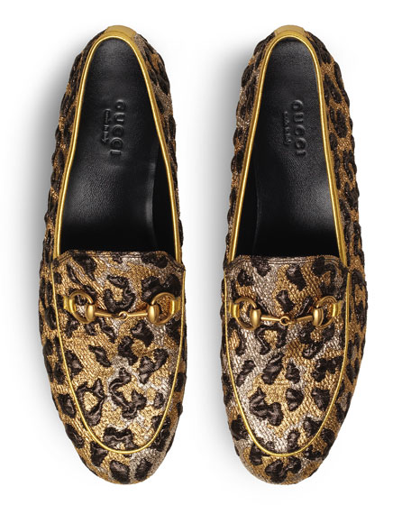 10mm New Jordaan Lurex Leo Loafer