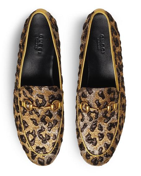 New Jordaan Leopard-Print Loafer