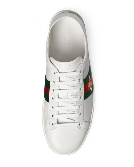New Ace Bee Web Sneaker, White