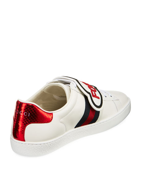 New Ace Blind For Love New Ace Sneaker, White/Red