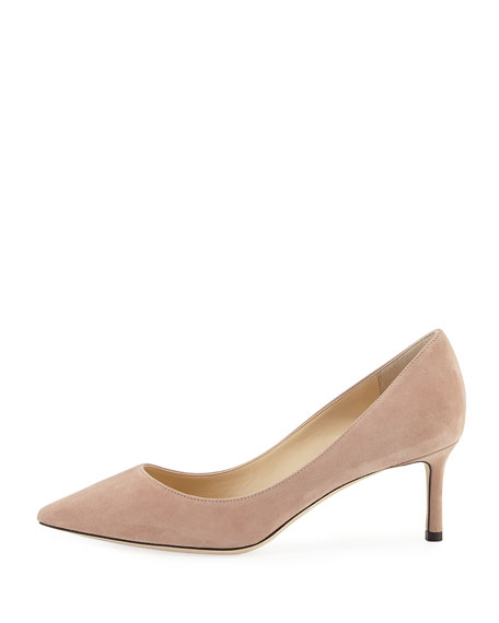 Romy 60mm Suede Pumps
