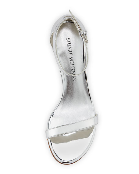 563c78982b48 Stuart Weitzman Simple Metallic 55mm City Sandals