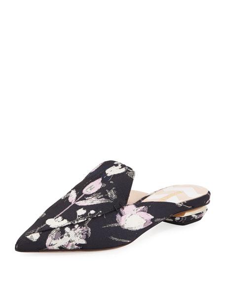Nicholas Kirkwood Beya Floral-Print Mule Slide