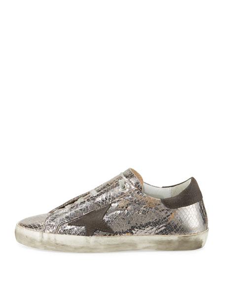Discount 100% Guaranteed Cheap Sale Nicekicks Golden Goose Snake Print Superstar Low Sneakers VNtqMIj3Yk