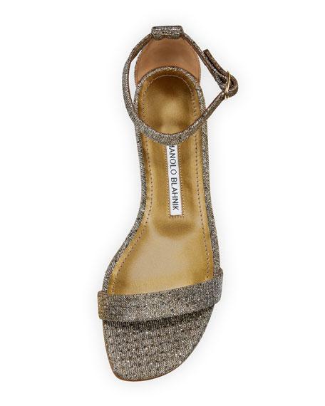 Chafla Flat Ankle-Strap Sandal