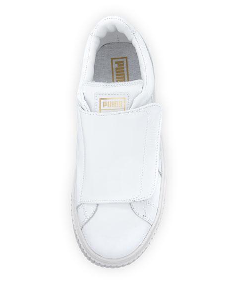 Basket Wide-Strap Platform Sneaker