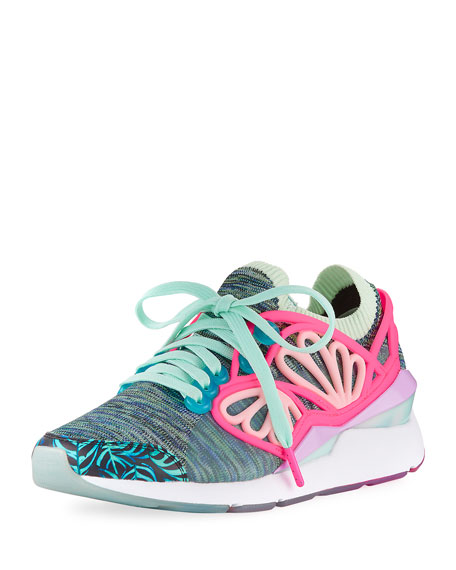Sophia Knit Webster Graphic Trainer Multi Pearl Cage X Sneaker Yygbf6v7