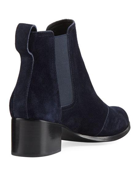 Walker Suede Block-Heel Chelsea Boot