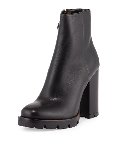 Prada Chunky heel ankle boots 5ManeW6ijW