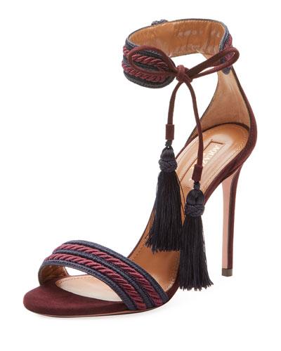 Shanty Ankle-Tie Rope Sandal
