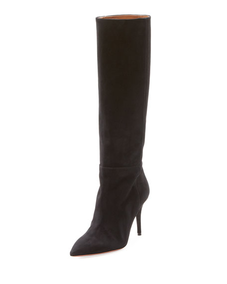 Quinn Suede Pull-On Boot