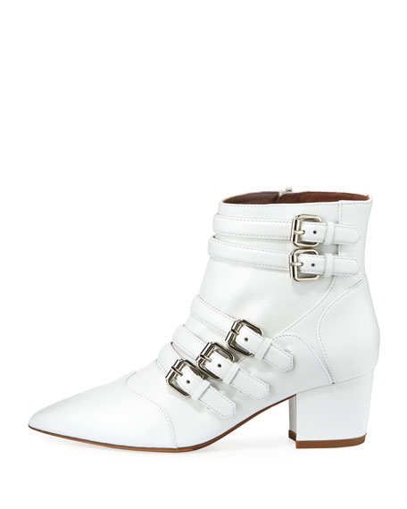 Christy Leather Buckle 50mm Bootie
