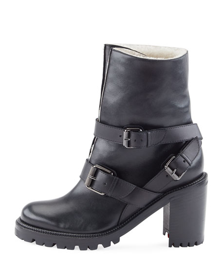 Viyonce Shearling Fur-Lined Boot