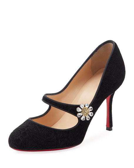 Christian Louboutin Velvet Mary Jane Pumps prices sale online new styles cheap price buy cheap find great sale from china 1fXpMPKqPG