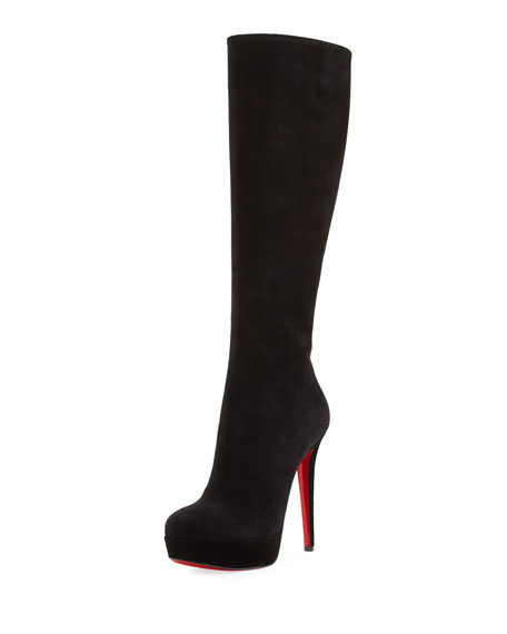 Christian Louboutin Suede Knee-High Boots outlet online shop best wholesale cheap new new arrival cheap price cBYaoY