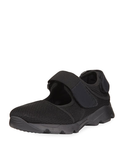 Mesh Mary Jane Sneaker