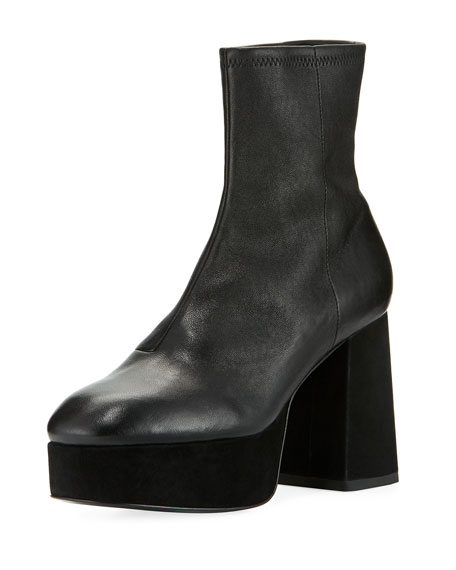 Opening Ceremony Carmen leather ankle boots Buy Cheap Big Discount qKHmcK