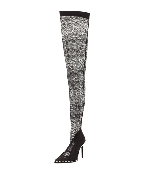 Lyra Lace Over-the-Knee Boot