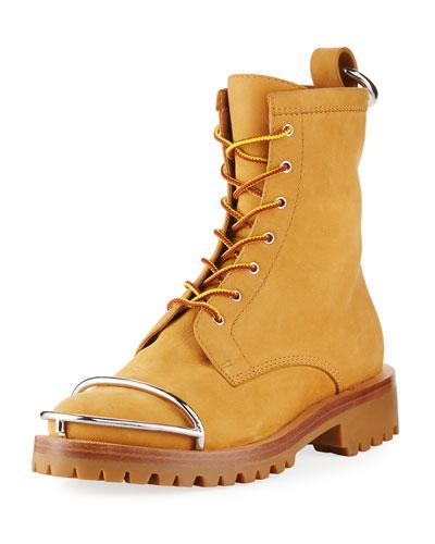 Lyndon Lace-Up Nubuck Boot