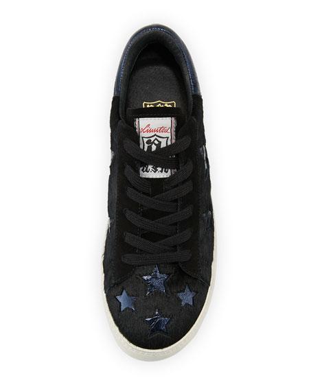 Cultstar Calf Hair Platform Sneakers