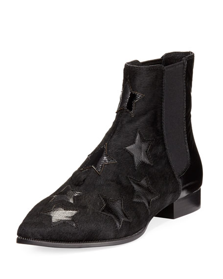 Bliss Calf Hair Star Bootie