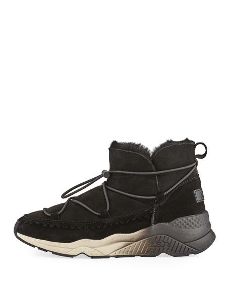 Mitsouko Shearling-Lined Sneaker