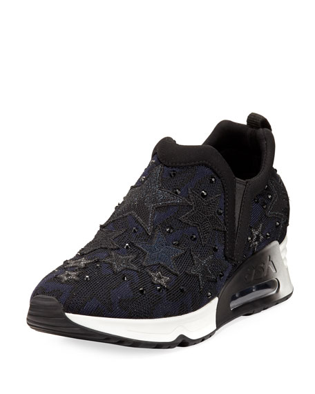 Ash Lifting Star Knit Sneaker