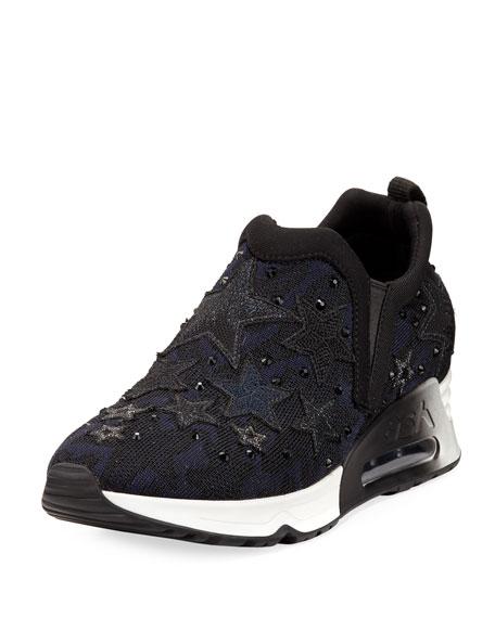 Lifting Star Knit Sneaker