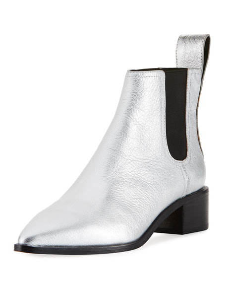 Nellie Metallic Chelsea Boot