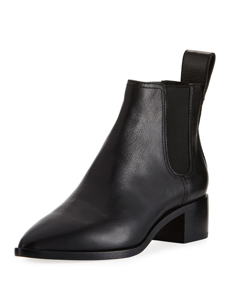 Nellie Tumbled Leather Chelsea Boot
