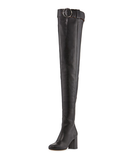 OLGANA PARIS MY BELT OVER-THE-KNEE BOOT
