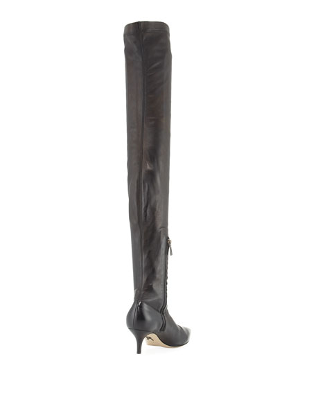 Braila Over-the-Knee Leather Boot