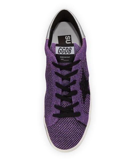 Star Knit Low-Top Sneaker