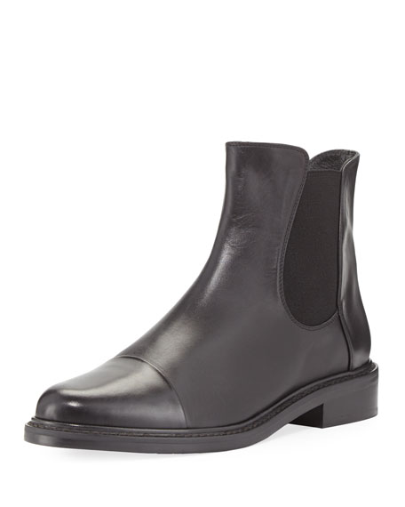 outlet pay with visa discount recommend Stuart Weitzman Cap-Toe Ankle Boots cheap pre order F9RgG