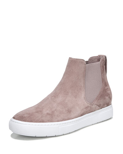 Newlyn Sport Suede High-Top Sneaker