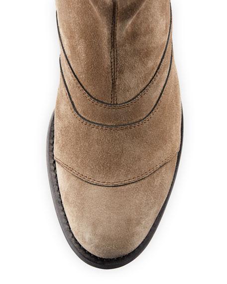Lexie Suede Side-Zip Boot