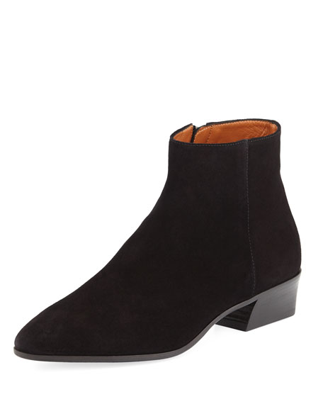 Fire Suede Ankle Boot