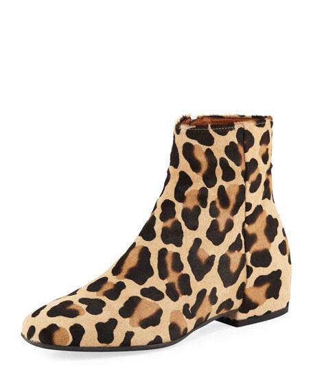 Aquatalia ulyssaa leopard print calf hair bootie thecheapjerseys Choice Image