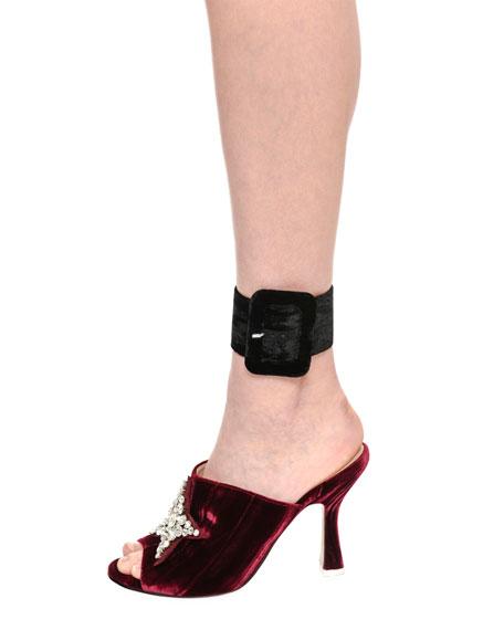 Velvet Anklet Cuff