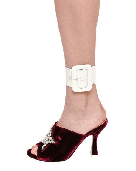 Patent Leather Anklet Cuff