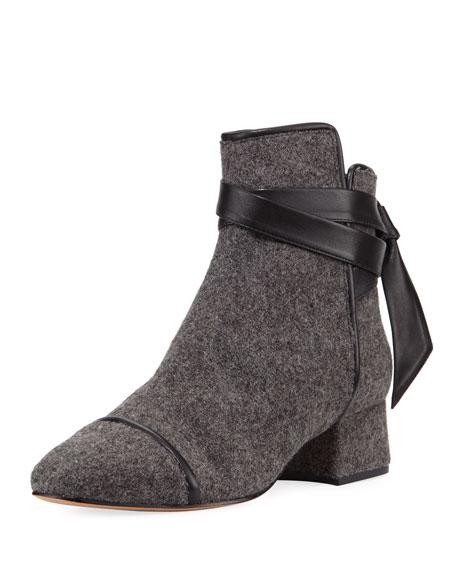 Catherine Felt Ankle Boot