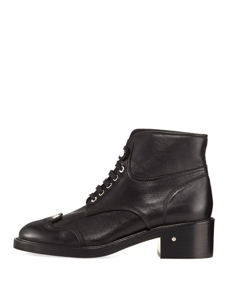Pegase Shearling-Lined Leather Boot