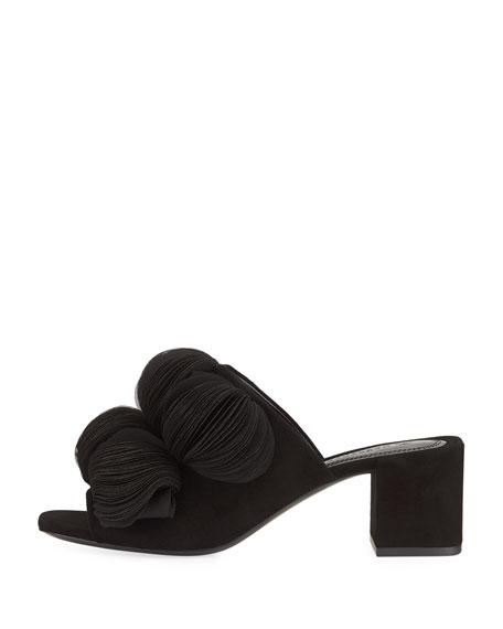Laine Block-Heel Mule Sandal