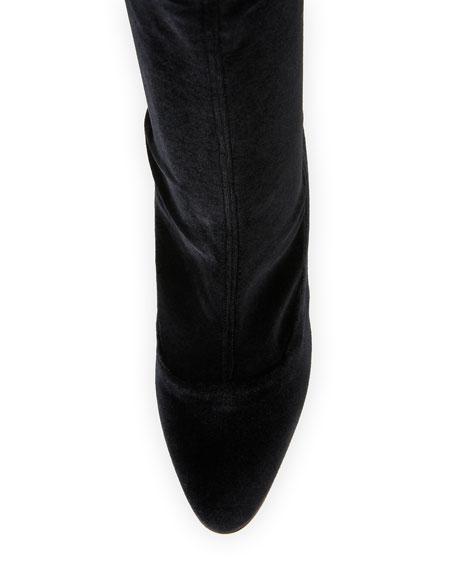 Todi Stretch-Velvet 90mm Boot