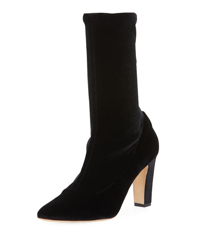 Todi Stretch-Velvet 90mm Boot