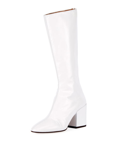 discount excellent buy cheap low shipping Dries Van Noten Knee-High Leather Boots outlet in China JhyCaj